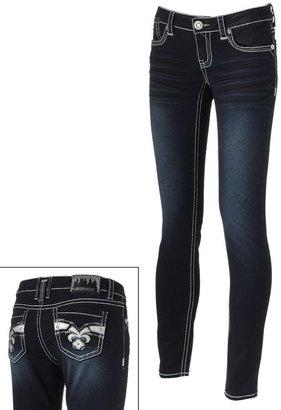 Hydraulic contrast skinny jeans - juniors