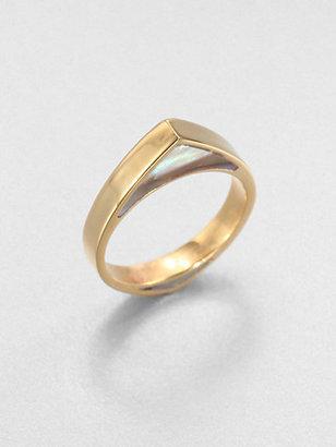 Kelly Wearstler Abalone Inlay Ring