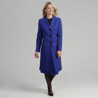 Evan Picone Women's Duster Coat Skirt Suit $59.24 thestylecure.com