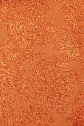 Thakoon Silk-jacquard top