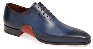Men's Magnanni 'Vito' Medallion Toe Leather Oxford $495 thestylecure.com