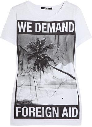 Ksubi Printed cotton T-shirt