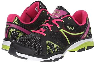 Ryka Vida RZX (Black Pink/Lime Blaze) Women's Shoes