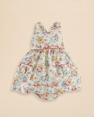 Ralph Lauren Infant Girls' Floral Dress & Bloomers Set - Sizes 3-9 Months