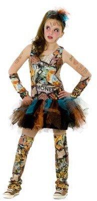 Girl's Graffiti Costume