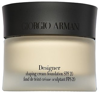 Armani Designer Shaping Cream Foundation SPF 20