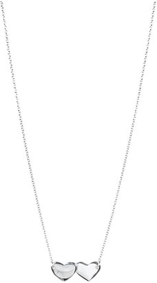 Zadig & Voltaire Necklace Double Heart