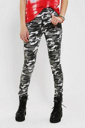 Tripp NYC High-Rise Camo Skinny Jean