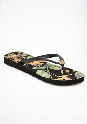 Bebe Birds of Paradise Flip Flop
