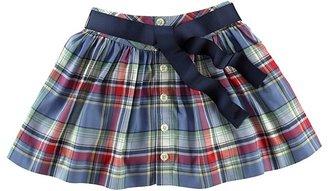 Ralph Lauren Girls' Plaid Button-Front Skirt - Sizes S-XL
