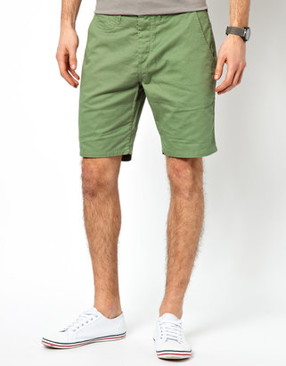 Paul Smith Chino Shorts with Patch Pockets