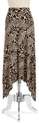 Calvin Klein Cheetah Print Maxi Skirt