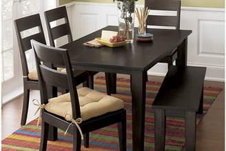 """Crate & Barrel Basque Java 65"""" Dining Table"""