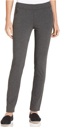 Style&Co. Sport Pants, Skinny Pull-On