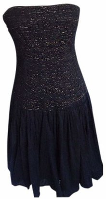 Diane von Furstenberg \N Black Cotton Dresses
