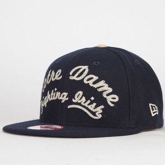 New Era Arch Notre Dame Mens Strapback Hat