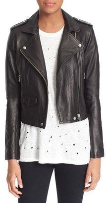 Women's Iro 'Ashville' Leather Jacket $1,200 thestylecure.com