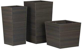 Crate & Barrel Tidore Planters