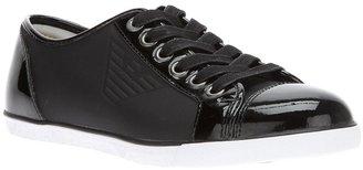 Emporio Armani lace-up sneaker