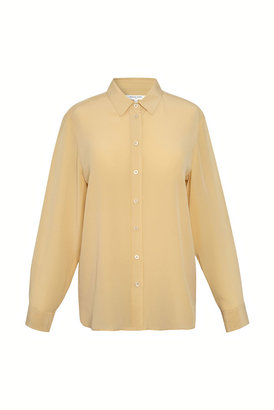 Gerard Darel Nadege - Short Sleeve Silk Shirt