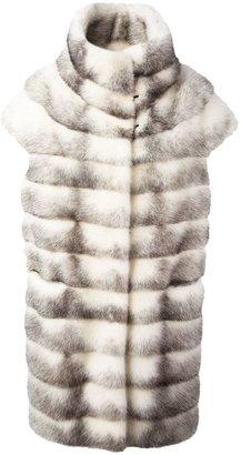 Liska short sleeve coat
