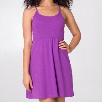 American Apparel Women's Baby Rib Cross-back Dress $19.99 thestylecure.com