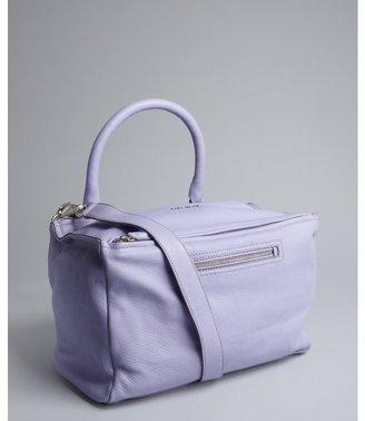 Givenchy lilac leather 'Pandora' medium convertible satchel