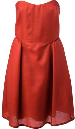 Carven strapless cocktail dress