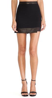 Alice + Olivia Andra Layered Mini Skirt