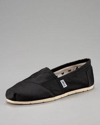 Toms Grosgrain Slip-On, Black