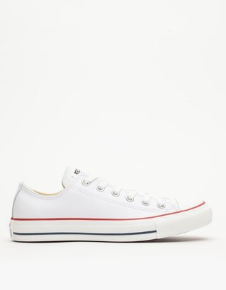 Leather Low Top All Star $65 thestylecure.com
