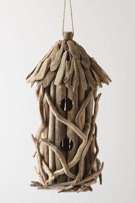 Anthropologie Driftwood Birdhouse