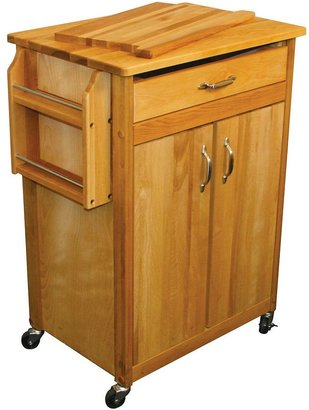 Catskill Craft butcher block kitchen work center