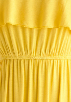 Jolly Good Yellow Dress