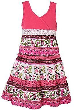 JCPenney Pinky Cotton Lawn Sundress - Girls 4-6x