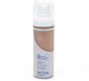 Cover Girl Advanced Radiance SPF 10 Age-Defying SPF Sunscreen Makeup, Classic Tan 160