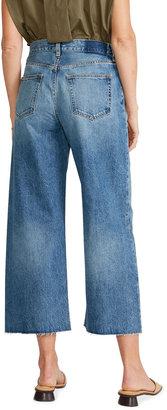 ÉTICA Devon Wide-Leg Cropped Jeans