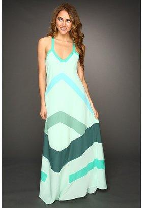 Patterson J. Kincaid Hanalai Maxi Dress (Mint Multi) - Apparel