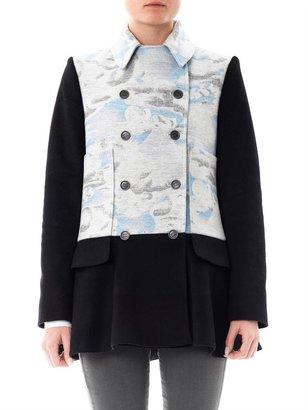 Kenzo Cloud-print wool coat
