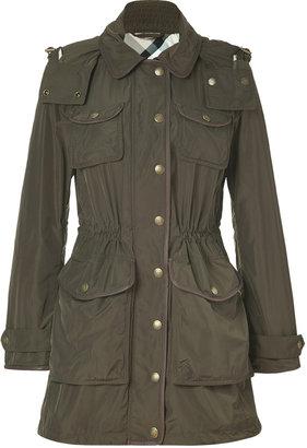 Burberry Oregano Drawstring Ackerton Coat