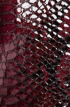 Burberry Python Print Embossed Leather Jacket