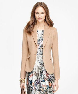 Camel Hair Two-Button Jacket $798 thestylecure.com