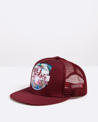 ONEBYONE - Red Caps - Antidote Trucker - Size ONE SIZE, One Size at The Iconic