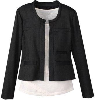 Coldwater Creek Jewelneck jacket