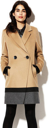 Vince Camuto Wool Blend Trench Coat