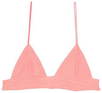 Lolli Swimwear - Dandy Top In Papaya