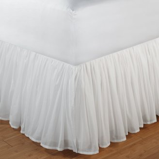 """Voile 15"""" Bedskirt - Twin"""