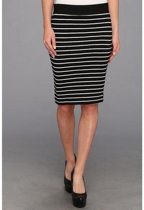 Karen Kane Port Stripe Pencil Skirt Women's Skirt