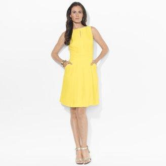 Ralph Lauren Sleeveless Woven Dress