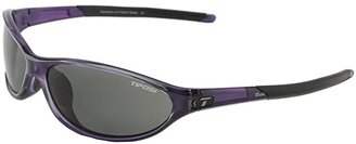 Tifosi Optics Alpetm 2.0 Polarized (Crystal Purple/Smoke Polarized Lens) Athletic Performance Sport Sunglasses